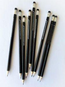 Bleistift Zieh einen Schlussstrich